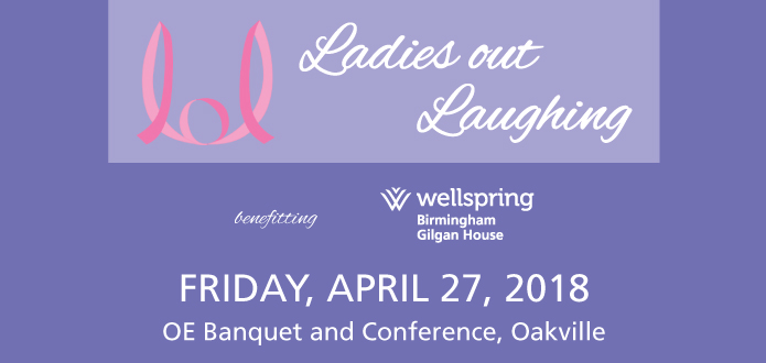 Ladies Out Laughing logo